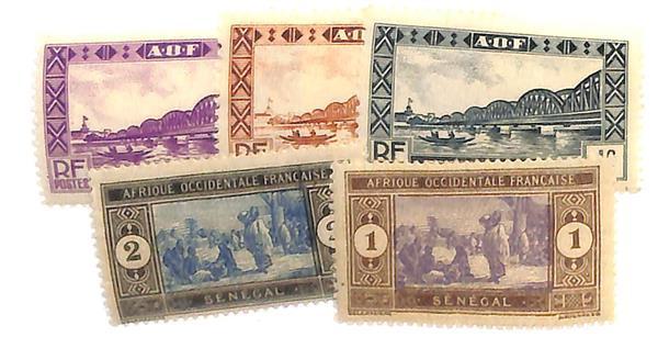1914-35 Senegal