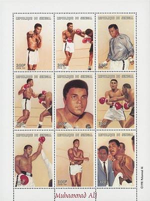 1998 Muhammad Ali-Boxing Portraits 9v