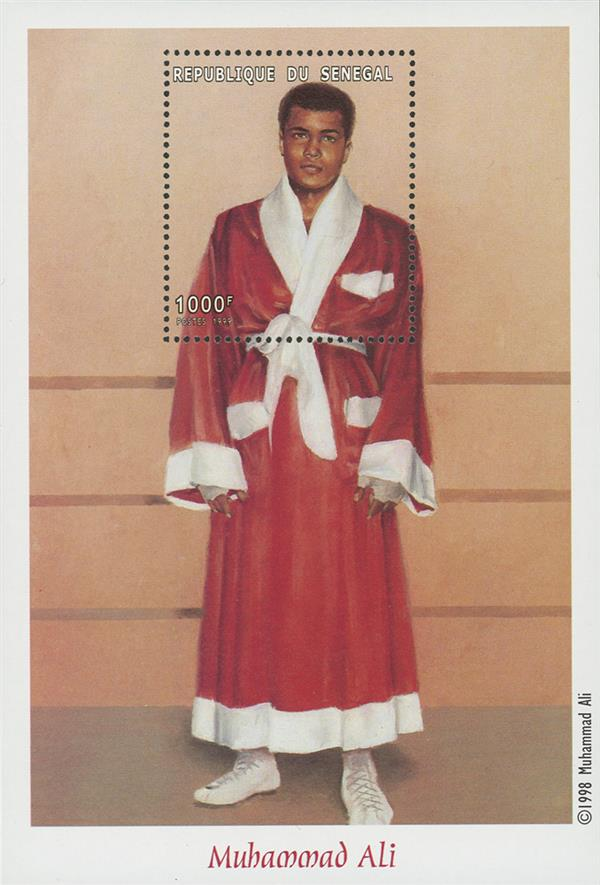 1998 Muhammad Ali in Boxing Robe s/s