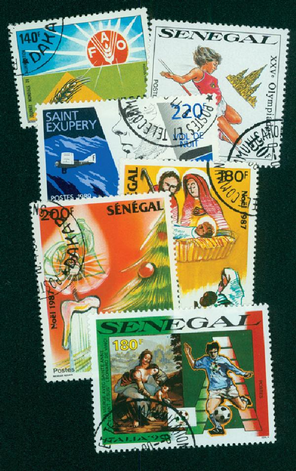 Senegal, 50 stamps