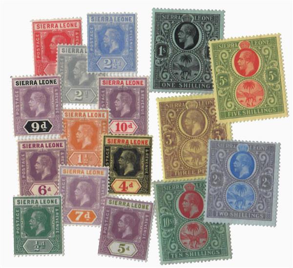 1912-24 Sierra Leone