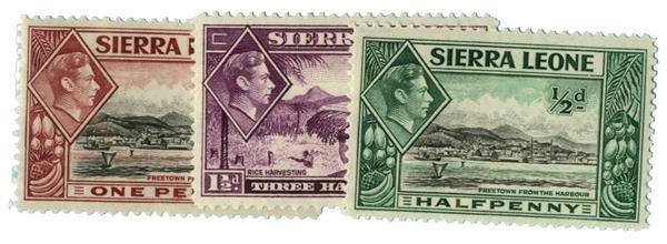 1938-41 Sierra Leone