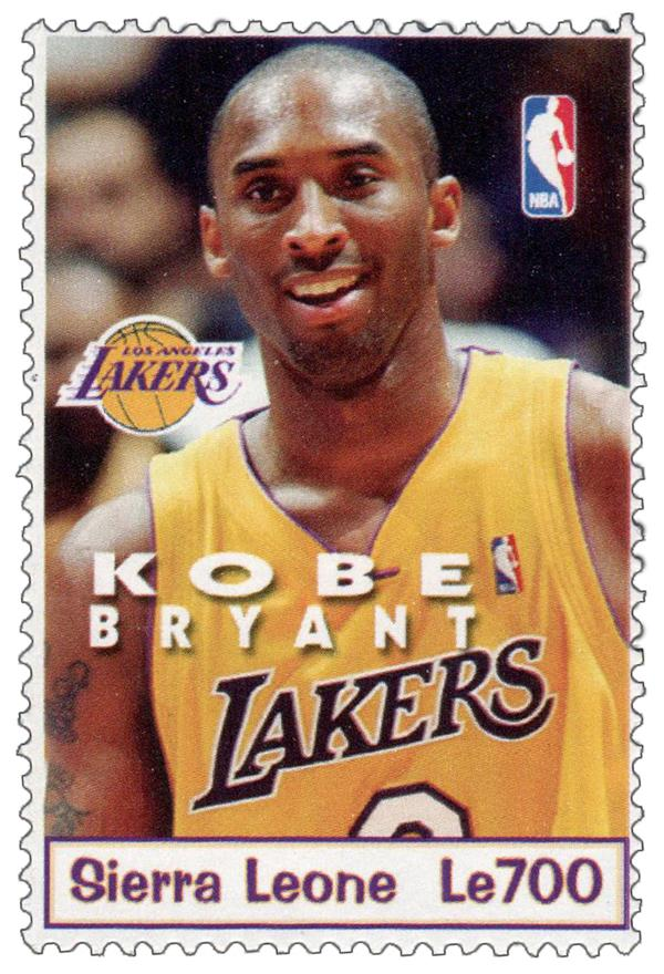 2004 Sierra Leone - Kobe Bryant, Los Angeles Lakers