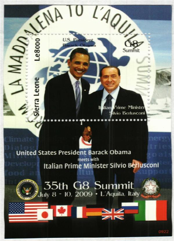 2009 35th G8 Summit