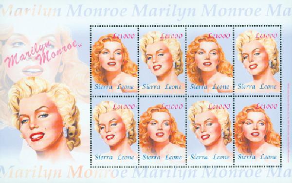 2004 Sierra Leone #2681 Marilyn Monroe