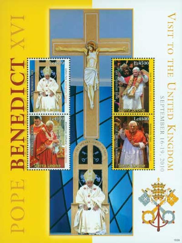 2010 Sierra Leone Pope Benedict