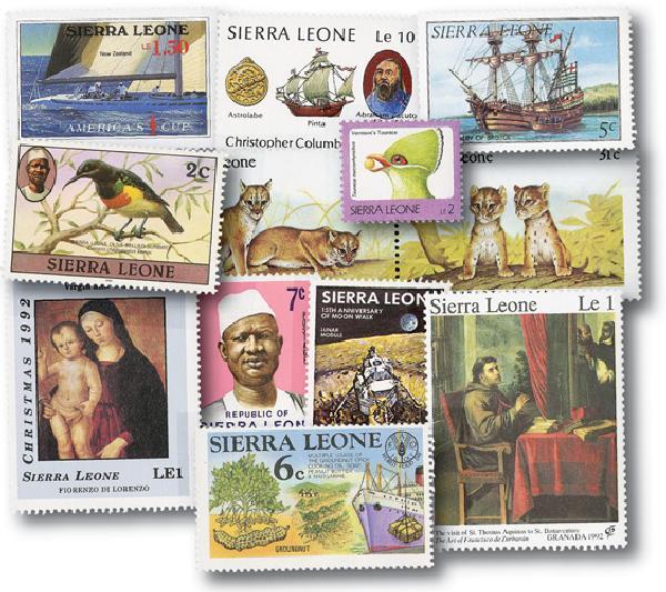 Sierra Leone, 50v
