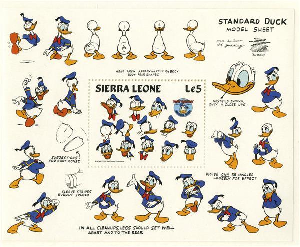 Sierra Leone Standard Duck Model, S/S