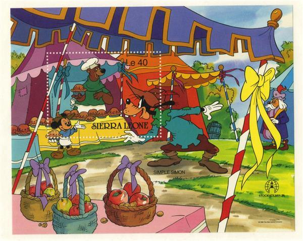 Sierra Leone 1986 Simple Simon, Mint S/S
