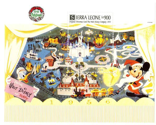 Sierra Leone 1991 Magic Kingdom, S/S