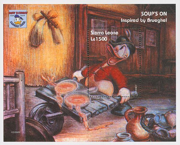 Sierra Leone 1995 Soups On, S/S