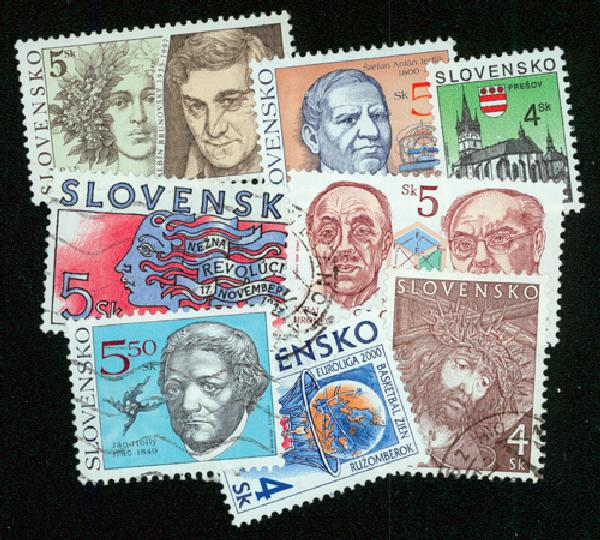 Slovakia, 100 Stamps
