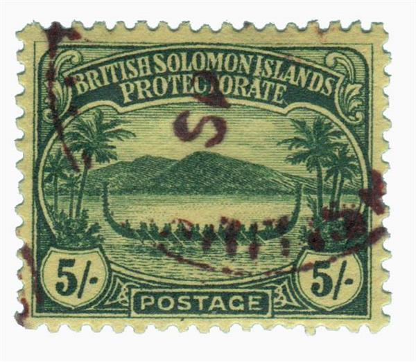 1910 Solomon Islands