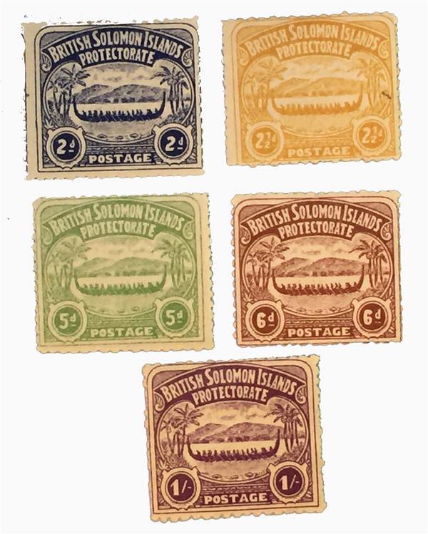 1907 Solomon Islands