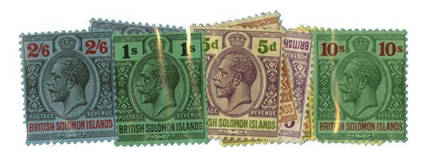 1922-31 Solomon Islands