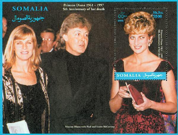 2002 Somalia, Diana w/ Paul McCartney