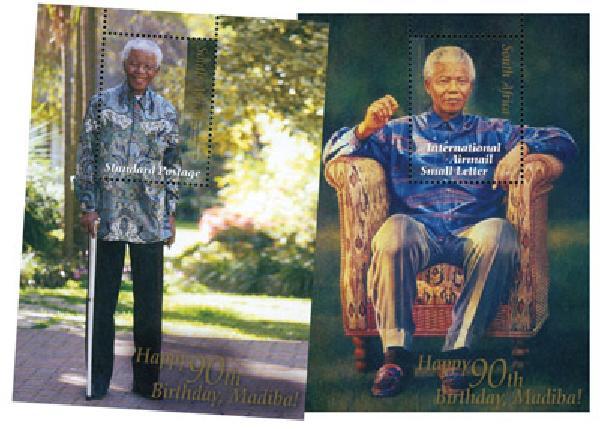 2008 South Africa N. Mandela s/s (2)