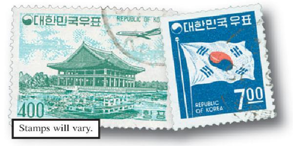 South Korea, 50v
