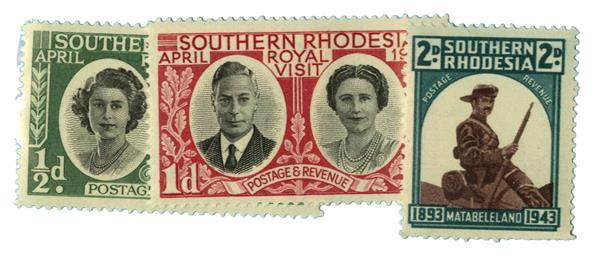 1943-47 Southern Rhodesia
