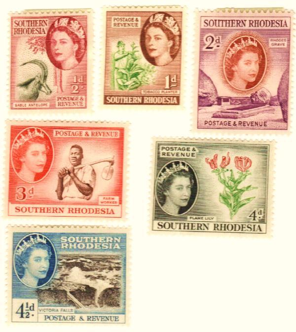 1953 Southern Rhodesia