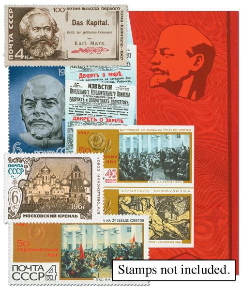 1967 Soviet Union Year Set Mounts (130)