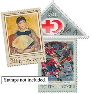 1973 Soviet Union Year Set Mounts (109)