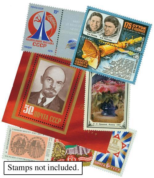 1979 Soviet Union Year Set Mounts (99)