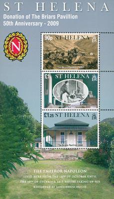 2009 St. Helena Napoleon s/s