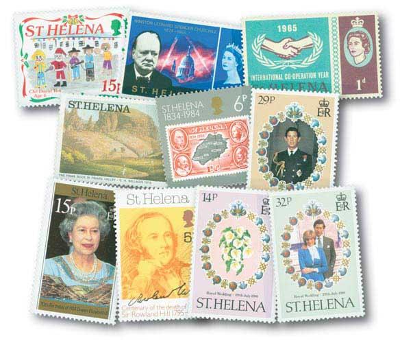 St Helena set of 25