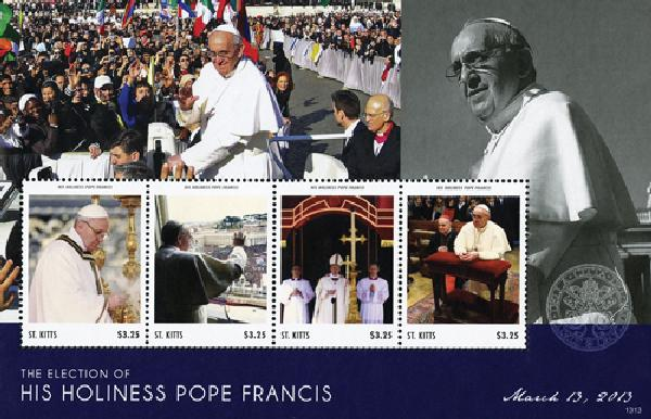 2013 ST Kitts Election of Pope Francis