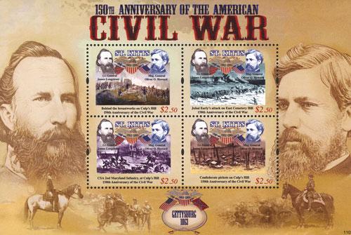 2011 $2.50 Gettysburg 1863 James