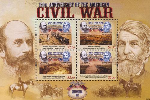 2011 $2.50 Gettysburg 1863 Richard Ewell