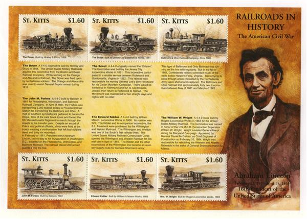 St. Kitts Civil War Trains, A Lincoln