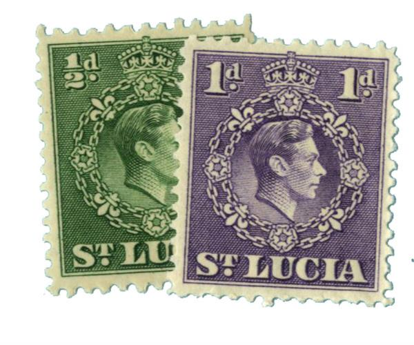 1938-43 St. Lucia