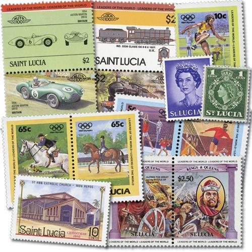 St. Lucia, 50v