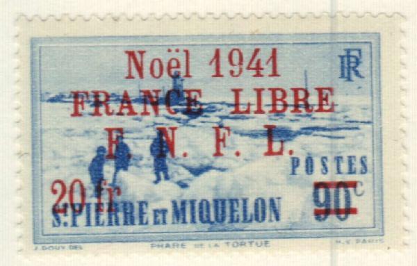 1941 St. Pierre & Miquelon