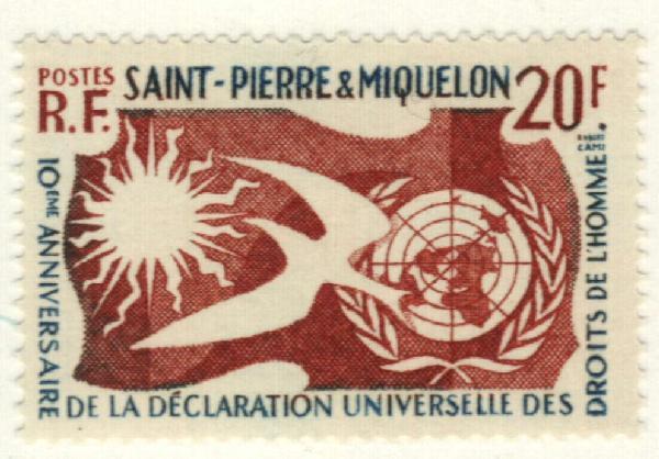 1958 St. Pierre & Miquelon
