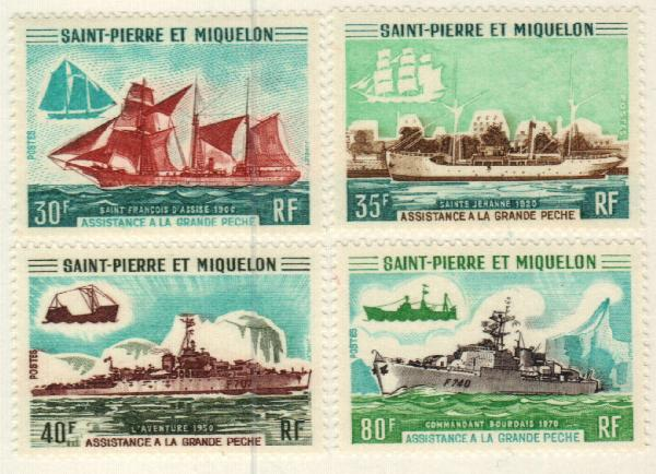 1971 St. Pierre & Miquelon