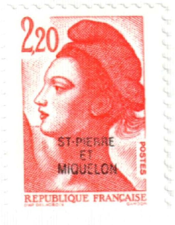 1986 St. Pierre & Miquelon