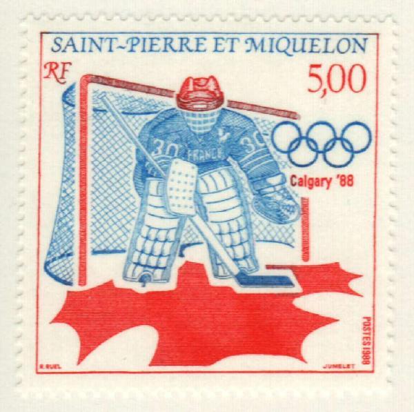1988 St. Pierre & Miquelon