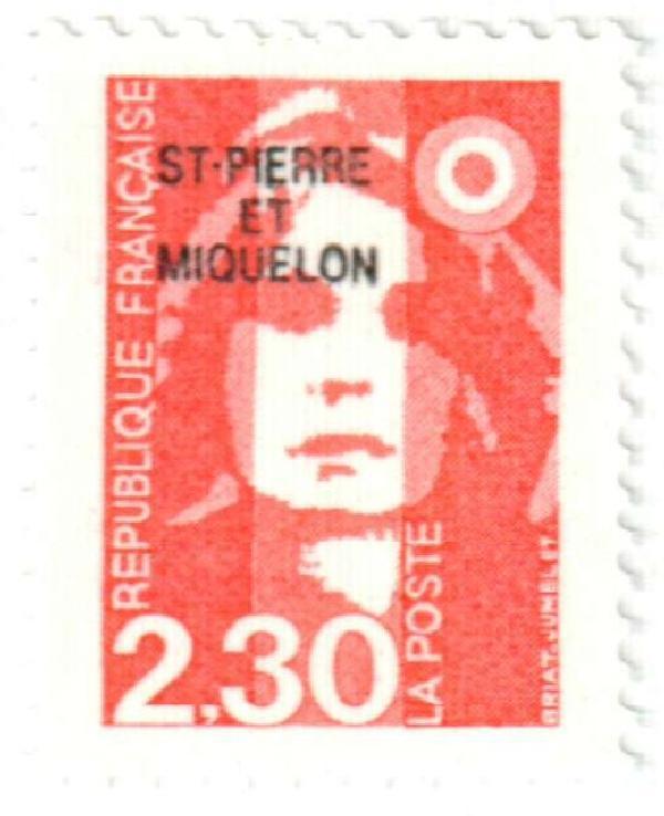 1990 St. Pierre & Miquelon