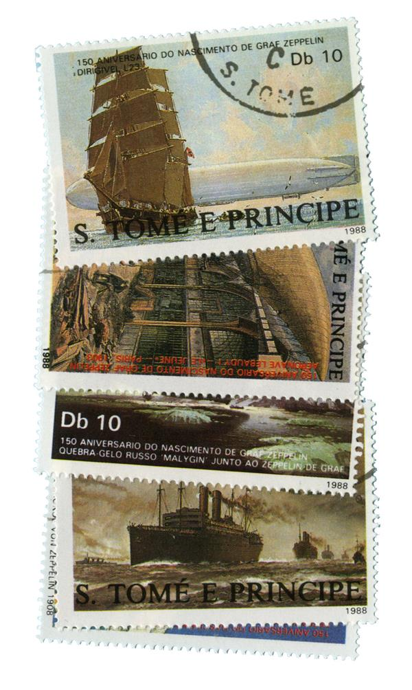 1988 St. Thomas & Prince Islands