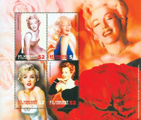 2004 St. Vincent #3188 Marilyn Monroe