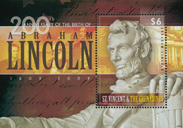 2009 St. Vincent Abe Lincoln s/s