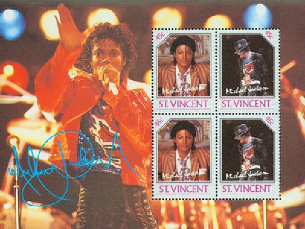 1985 St. Vincent M. Jackson #898 s/s