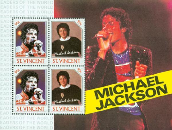 1985 St. Vincent M. Jackson #899 s/s