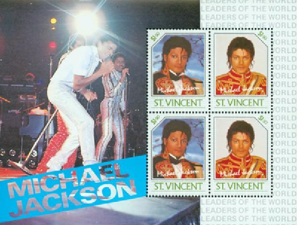 1985 St. Vincent M. Jackson #900 s/s