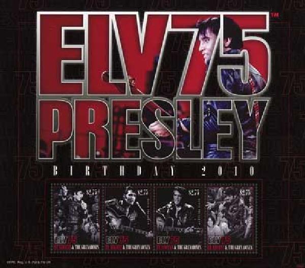 2010 St Vincent Elvis 75th Birthday 4v M