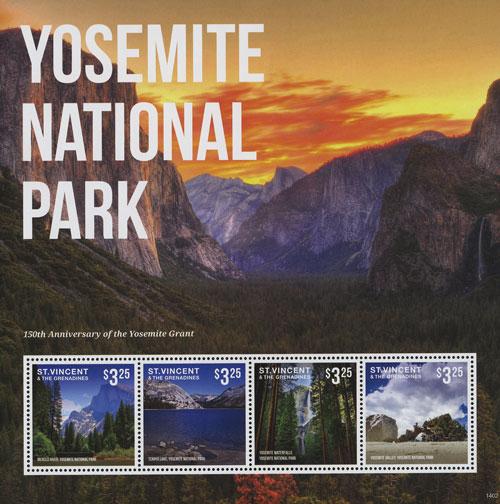 2014 150th Anniv of Yosemite Grant SH/4