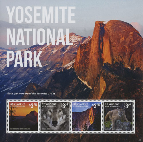 2014 150th Anniv of Yosemite Grant SH/4